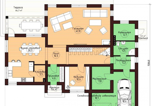 Красивый дом с панорамными окнами: фото, проекты и стоимость