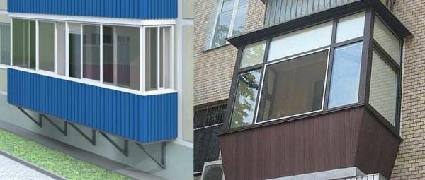 Что лучше профнастил или сайдинг для балкона.