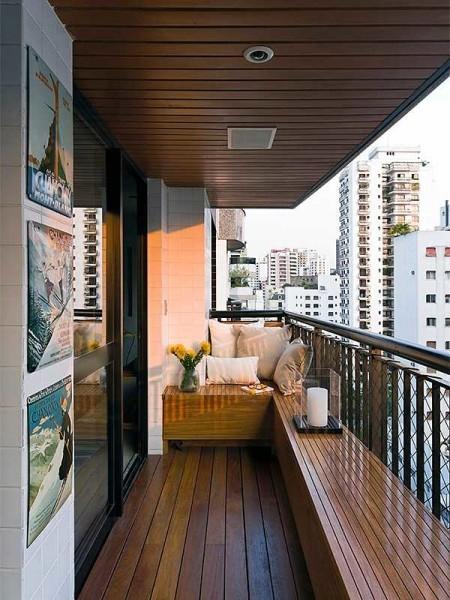 Внутренняя отделка балконов и лоджий: дизайн своими руками.